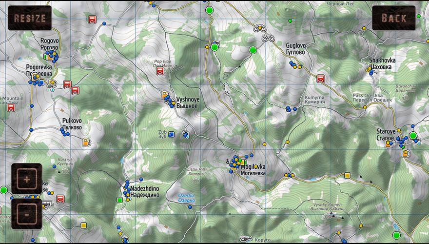 ILIKESCIFI Dayz Maps on